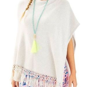 Lilly Pulitzer Floreanna Fringe Sweater